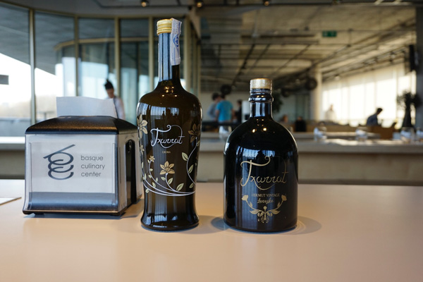 En el Basque Culinary Center con vermut Txurrut